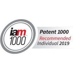 Thomas Britven Again Receives 'Highly Recommended Expert Ranking' for 2019 by IAM Patent 1000